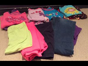 14 Girl Fall/Winter clothes size 7&8