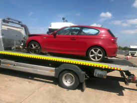 Bmw 1 series breaking