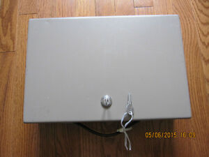 Heavy Steel Locking Strong Box