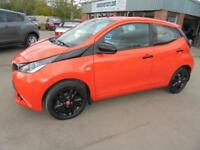 Toyota Aygo X-Cite VVT-i 5dr. From £144.95 per month.....Ready to go!!