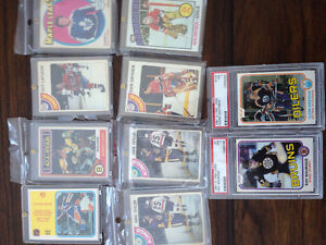 1970s-80s hockey cards (Anderson Rookie)