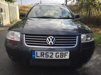 2002 Volkswagen Passat 1.8 20v Turbo SE 5dr