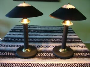 Pair of Table / Desk Lamps