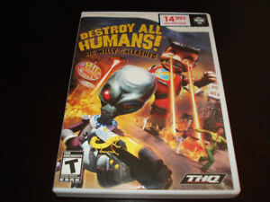 Destroy all humans, WII.