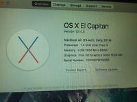 Apple MacBook Air 13inch early 2014