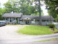 House plus 6 Cottages For Sale on Beautiful Charleston Lake
