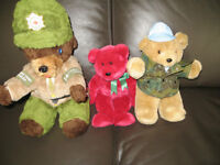 Collectable Bears (3)