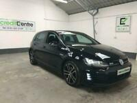 **BUY FROM £64 PER WEEK** BLACK VOLKSWAGEN GOLF 2.0 GTD 5D 181 BHP DIESEL