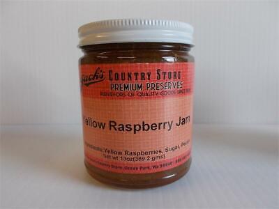 Jack's Country Store Preserves Yellow Raspberry Jam 13 OZ
