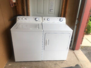 "Ge 27 "" washer and dryer set for sale"