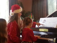 Piano Lessons with a Friendly, Experienced, Educated Teacher