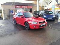 SUBARU IMPREZA WRX TURBO, Red, Manual, Petrol, 2004