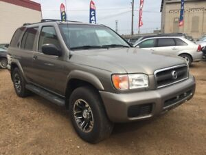 2004 Nissan Pathfinder 6 Months powertrain warranty included.