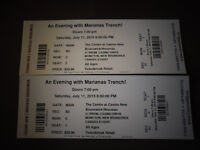 Pair of Seated Marianas Trench Tickets