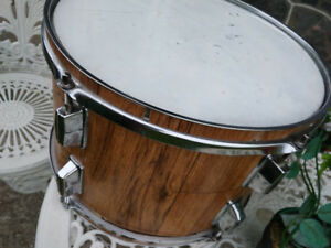 Tambour drum wood métal wrap