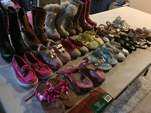 Slightly used toddler clothing and shoes