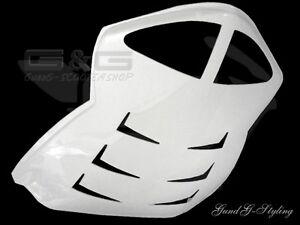 Heckdurchgang Heck Verkleidung MTKT Weiss für Peugeot Speedfight 2 AC LC 50