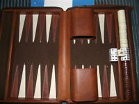 Vintage Backgammon Game