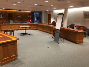 Council chamber furnishings