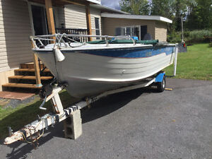 Boat And Trailler For Sale