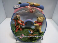 Winnie The Pooh Collectible 3D Plates from Bradford Exchange