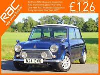 1996 Mini MAYFAIR Modern Classic Mini Mayfair 1.3i Auto Air Con Very Rare Freshl
