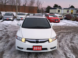 2010 Acura CSX Tech Pkg Sedan (SunRoof, Heated Leather Seats)