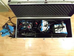 Kit d'éclairage Tungsten 2X 1000W + 2X 650 W - NEUF
