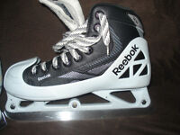 Junior Goalie Skates Size 4 (Approx Shoe Size 6)