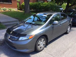 Honda Civic hybride 2012 - Système de navigation - Économique