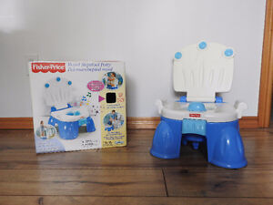 Fisher Price Royal Stepstool Potty With Box