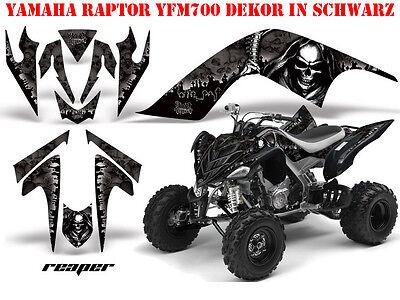 AMR RACING DEKOR GRAPHIC KIT ATV YAMAHA RAPTOR YFM 125/250/350/660/700 REAPER B
