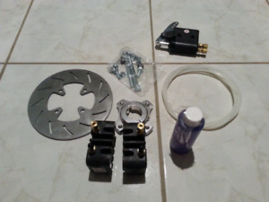 Go kart Rear hydraulic brake kit