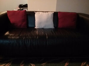 Small leather couch for sale