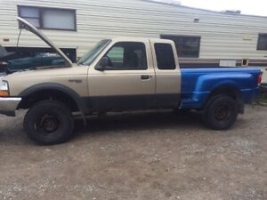Two Ford rangers 2000 2001