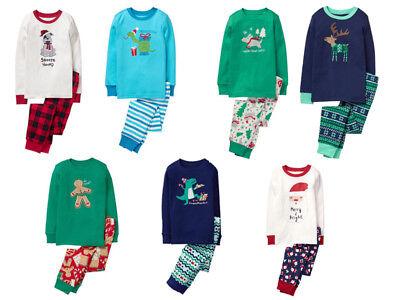 Nwt Gymboree Boys Gymmies Sz 5 6 7 8 10 12 Holiday Christmas Pajamas Pjs New