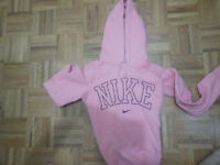 coral nike sweater size small