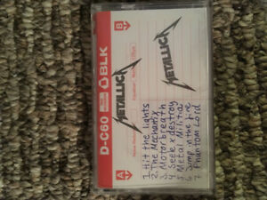 Metallica No Life Till Leather Cassette Tape Record Store Day