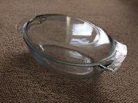 Pyrex Glass Large Casserole Dish