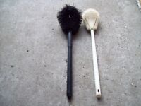 2-BROSSES A TOILETTE,ANTIQUE-VINTAGE.