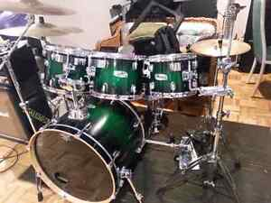 Mapex M birch drums