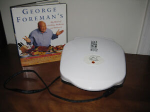 GEORGE FOREMAN GRILL & RECIPE BOOK