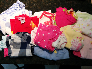 Girls 3 Month and 3 to 6 Month Summer Clothes