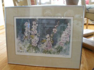 GORGEOUS FRAMED LIMITED EDITION ['81] SZABO FLORAL PRINT