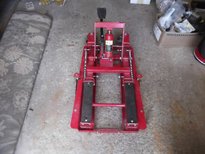ATV and Motorcycle lift Barrie reduced $110 or BO