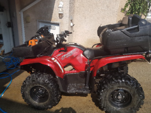 2013 Yamaha Grizzly 550 FI limited Edition