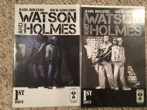 Watson and Holmes #1 Cover A+B Comic book NM