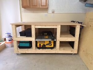 6x3' garage workbench  Cambridge Kitchener Area image 1