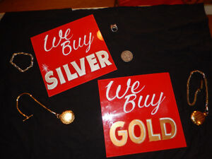 Silver and Gold, Even Broken or Bent. WE BUY IT ALL (CASH)