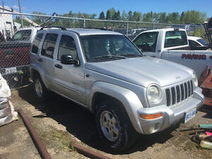 Not Running: 2001 Jeep Liberty SUV, Crossover